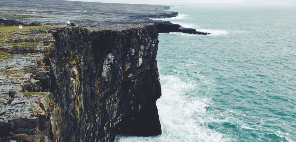 Massive cliffs of Inis Mor
