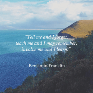 Intern abroad: Ben Franklin quote