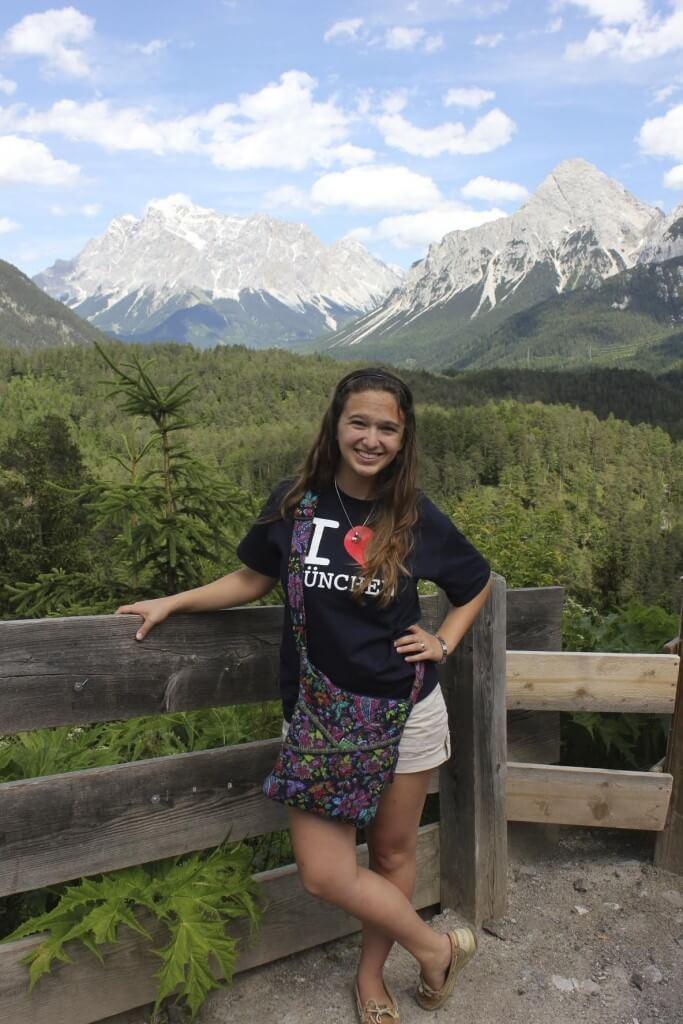Colleen Austrian Alps