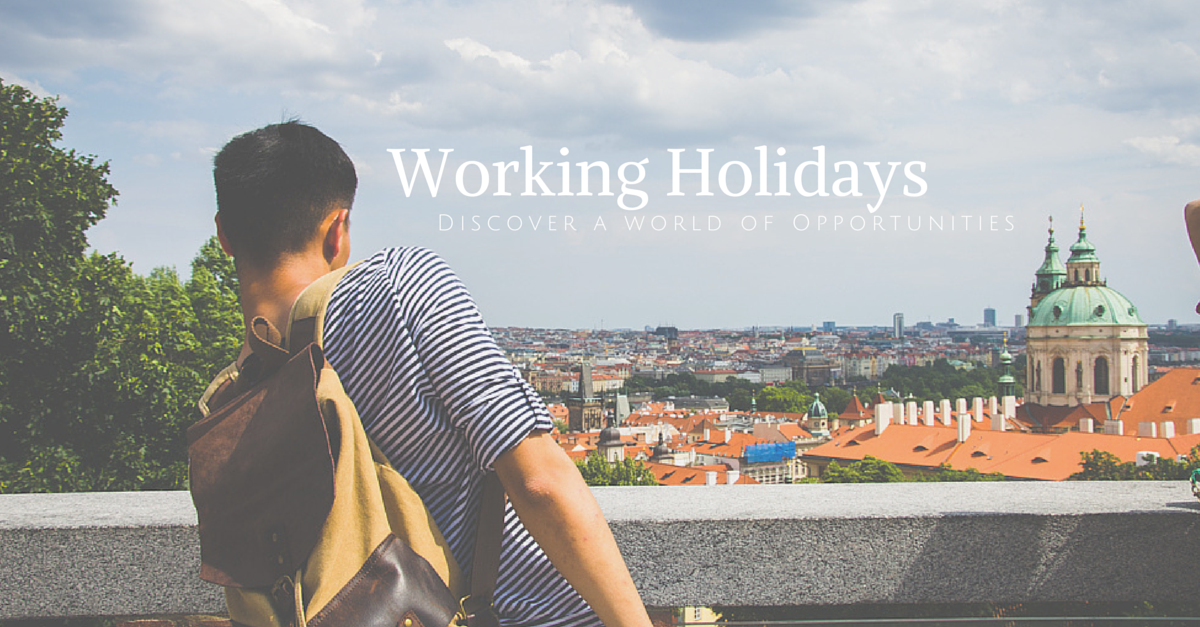 What is a working holiday?