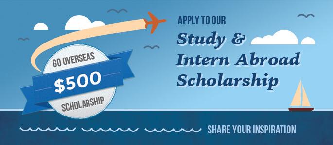 Go Overseas study & intern abroad scholarship