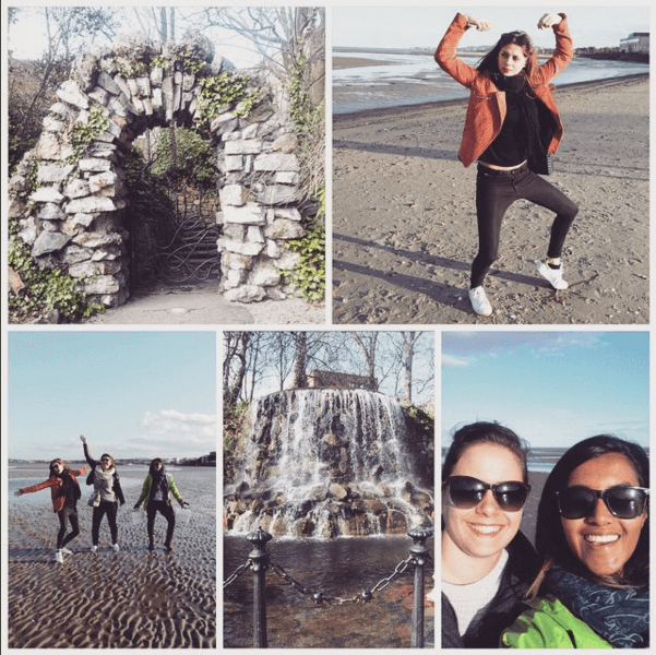 Hanging out in Ireland!