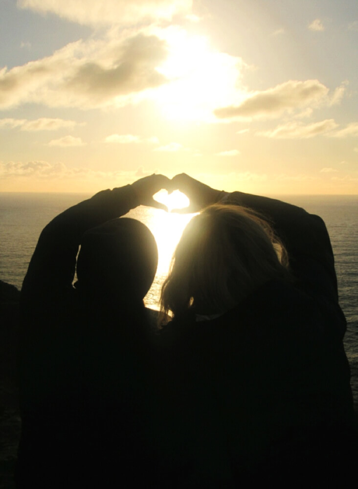 Nothing but love for Ireland from the Cliffs of Moher, overlooking the Atlantic.